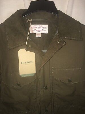 New With Tags Filson Made In Usa Lightweight Dry Journeyman Jacket M $350