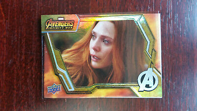 88 You Could Never SP Base Card Avengers Infinity War