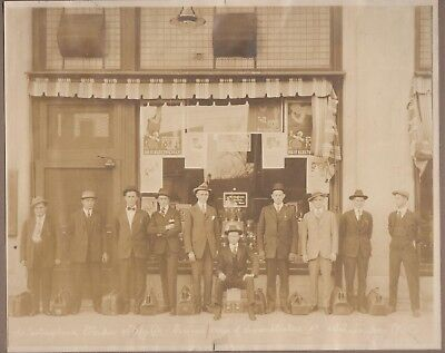 1911 Westinghouse Electric & Mfg Crew of Demonstraters Wilmington NC PHOTOGRAPH