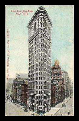 Dr Jim Stamps Us View Flat Iron Building New York Postcard