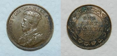 Canada : 1918 Large Cent - Ef
