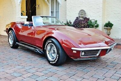 1968 Chevrolet Corvette Convertible w/ 28,692 Actual Miles 1968 Chevrolet Corvette Convertible w/ 28k Actual Miles