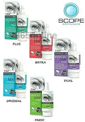 Hycosan Extra, Plus,  Dual,  Original, Fresh  7.5ml