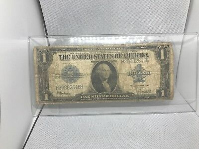 1923 United States 1 Dollar Silver Certificate Paper Note