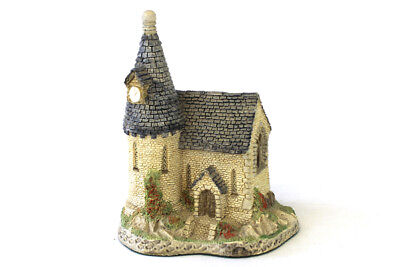 Vintage 1984 Hand Made Painted David Winter Cottages The Chapel