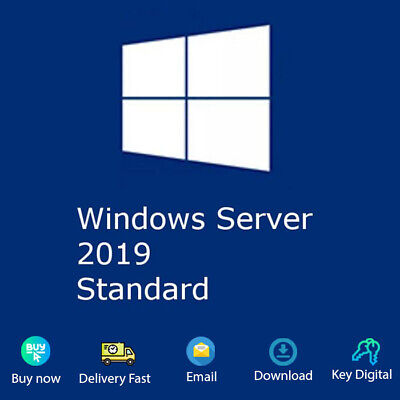 Windows Server 2019 Standard Download Activation Key Genuine For 1 PC
