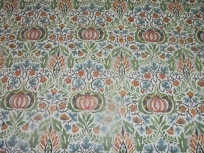 William Morris Curtain Fabric Design  Little Chintz 5.5 Metres Dk5562