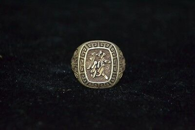 Rare Antique Chinese Handwork Collectible old tibet silver wealthy male Ring