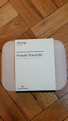 BRAND NEW, Sealed Cathay Pacific First Class FEMALE Amenity Kit By AESOP