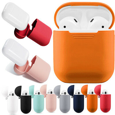 AirPods Case Protective Silicone Skin Holder Bag for Apple Air Pod Accessories B