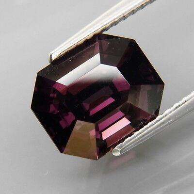 4.61Ct.Attractive Color Natural BIG Top Purple Spinel MaeSai,Thailand Lupe Clean