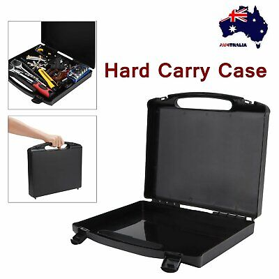 Black Travel Carry Hard Portable Plastic Storage Box Case Tool Organizer Toolbox
