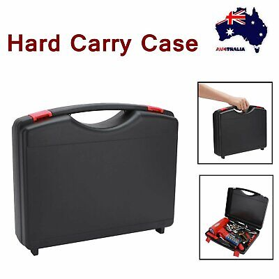 Black Travel Carry Hard Case Storage Box Power Tool Organizer Toolbox Portable