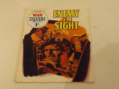 WAR PICTURE LIBRARY NO 284 !,dated 1965 !,GOOD for age,great 54 !YEAR OLD issue.