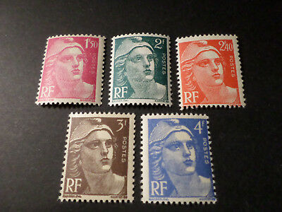 FRANCE LOT timbres MARIANNE DE GANDON, neufs** LUXE, VF MNH STAMPS
