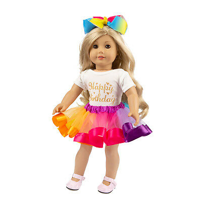 Doll Dress Mix Clothes Coat Pants Outfits Skirt For America 18 Inch Girl Dolls