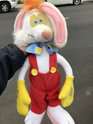 "Playskool vintage 1988 Disney 18"" plush Roger Rabbit"