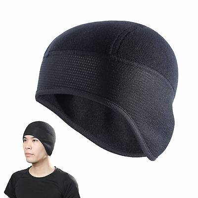 a5a75758935 Men s Outdoor Beanie Hats Ear Warm Winter Thermal Fleece Cycling Running Ski  Cap