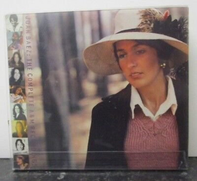 JOAN BAEZ ~ The Complete A&M Recordings ~ 4 x CD ALBUM BOX SET - USA PRESS