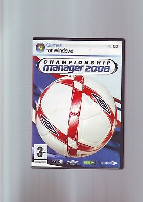 Championship manager 2008 pc racing