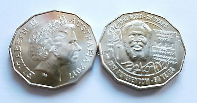 2 x 2017 Uncirculated 50c MABO Pride & Passion 50 cent unc ex RAM bag