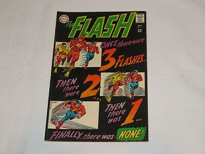 Old 1967 Flash #173 DC Comic book team-up with GA Flash and Kid Flash
