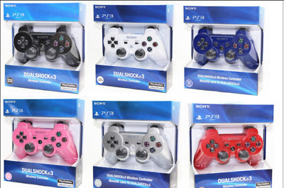 Brand NEW Sealed Sony PlayStation 3 PS3 DualShock 3 Wireless SixAxis Controller