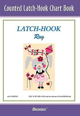Counted Latch hook Chart - Mouse with Kite - 90x134 holes