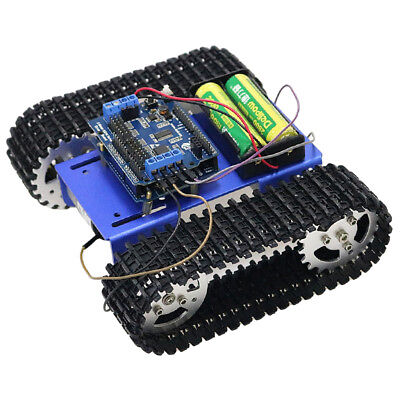 T101 WIFI Metal Robot Tank Car Chassis Tracked Kit For Eductaion Platform