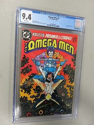 Omega Men #3 CGC 9.4 First Appearance of Lobo (1st)