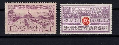 P97871/ New Zealand / Y&t # 58 – Express # 2 Neufs * / Mint Mh 118 €