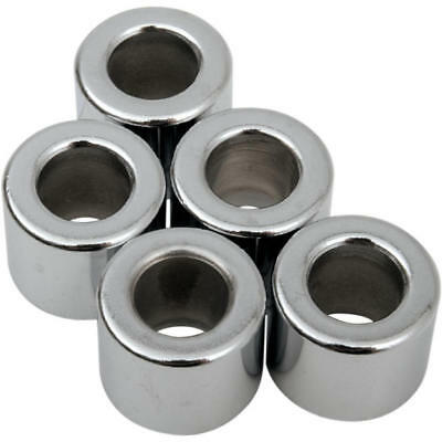 """DS Chrome Steel Spacer 5-Pack 5/16"""" x .5"""" Thick"""
