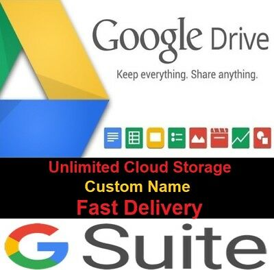 Google Drive Account Unlimited Cloud Storage ✔️ From G Suite ✔️