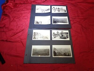 Vintage Lot of Yellowstone National Park, 1930s Snapshot Photographs #5