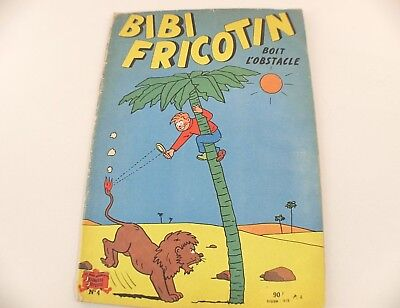 BD BIBI FRICOTIN boit l'obstacle édition SPE 1948 rare