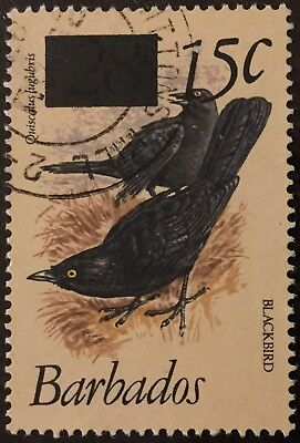 Barbados 1979 15c. Overpint Birds SG627s Fine Used