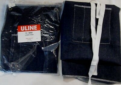 ULINE Denim Apron, Set Of 2