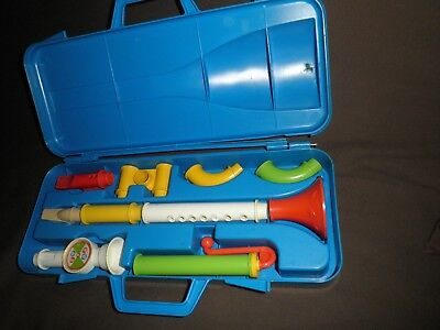 "Fisher -Price ,années 80""""Coffret du Musicien""made in U.K"