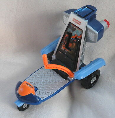 Fisher Price Rescue Heroes Ultra Light 2-in1 RESCUE VEHICLE No Wings