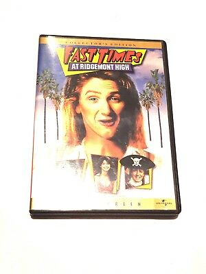 Fast Times at Ridgemont High (DVD, 2004, Collectors Edition) Fast Free Shipping