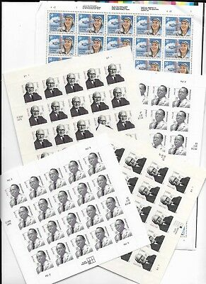 US Discount Postage mint high denomination 50c to 87c, face value $163+ nh