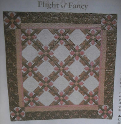 "Flight of Fancy Quilt, Sew, Fabric Kit 84""Square - Janet Rose Collection ""EDEN"""