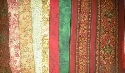 Quilt, Sew, Fabric - 8 PCS RJR Middleburg by Jinny Beyer - 24 yds total