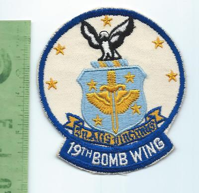 US Air Force USAF 19th Bomb Wing patch