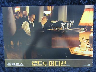 ROAD TO PERDITION  lobby card #4 - TOM HANKS, PAUL NEWMAN, JUDE LAW