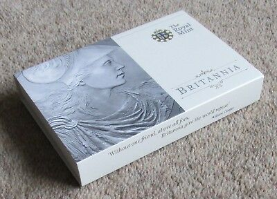 2010 bullion £2 (two pound) Britannia coin, boxed & carded as issued by RM