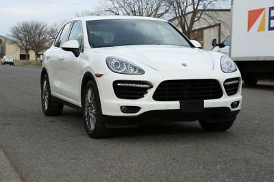 2011 Cayenne Turbo Sport Utility 4D 2011 Porsche Cayenne, Sand White  with 76,580 Miles available now!