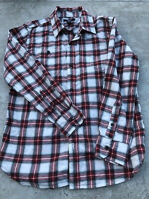 Gap Boys Red Checked Shirt Age 10-11 Years