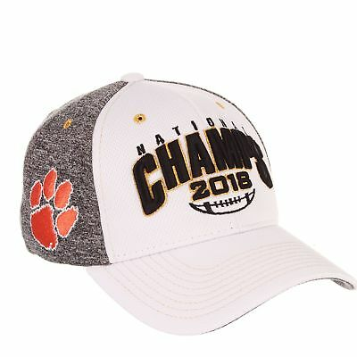 Clemson Tigers 2018-2019 Football National Champions Stretch Fit Hat Cap