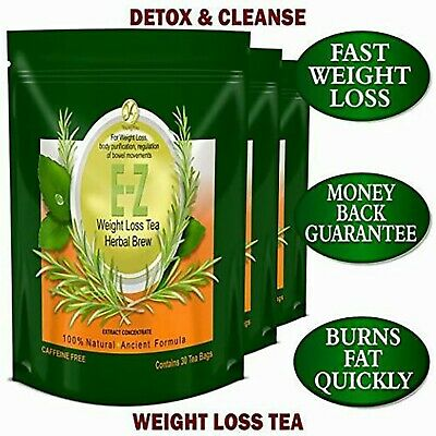 E-Z WEIGHT LOSS TEA- APPETITE SUPPRESSANT DIET TEA. FAST WEIGHT LOSS.  3 pack